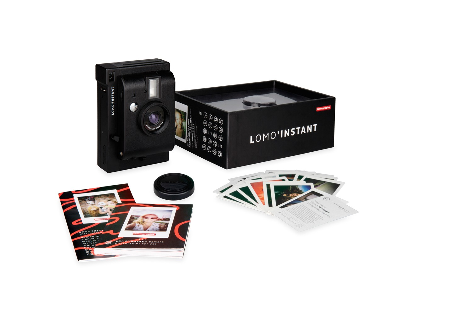 Lomo Instant camera package