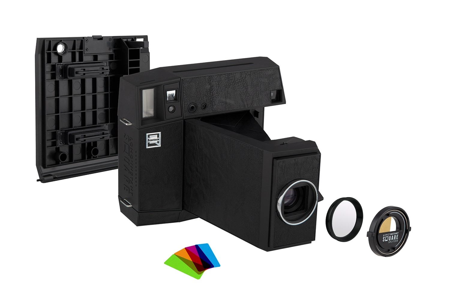 Lomo'Instant Square Glass Combo (Black Edition)