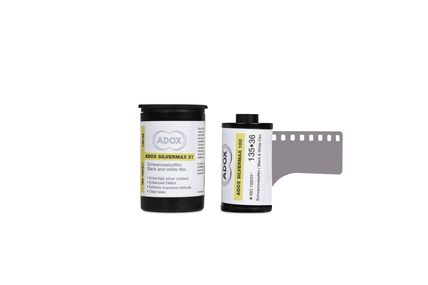 Adox Silvermax B&W Film with high silver content