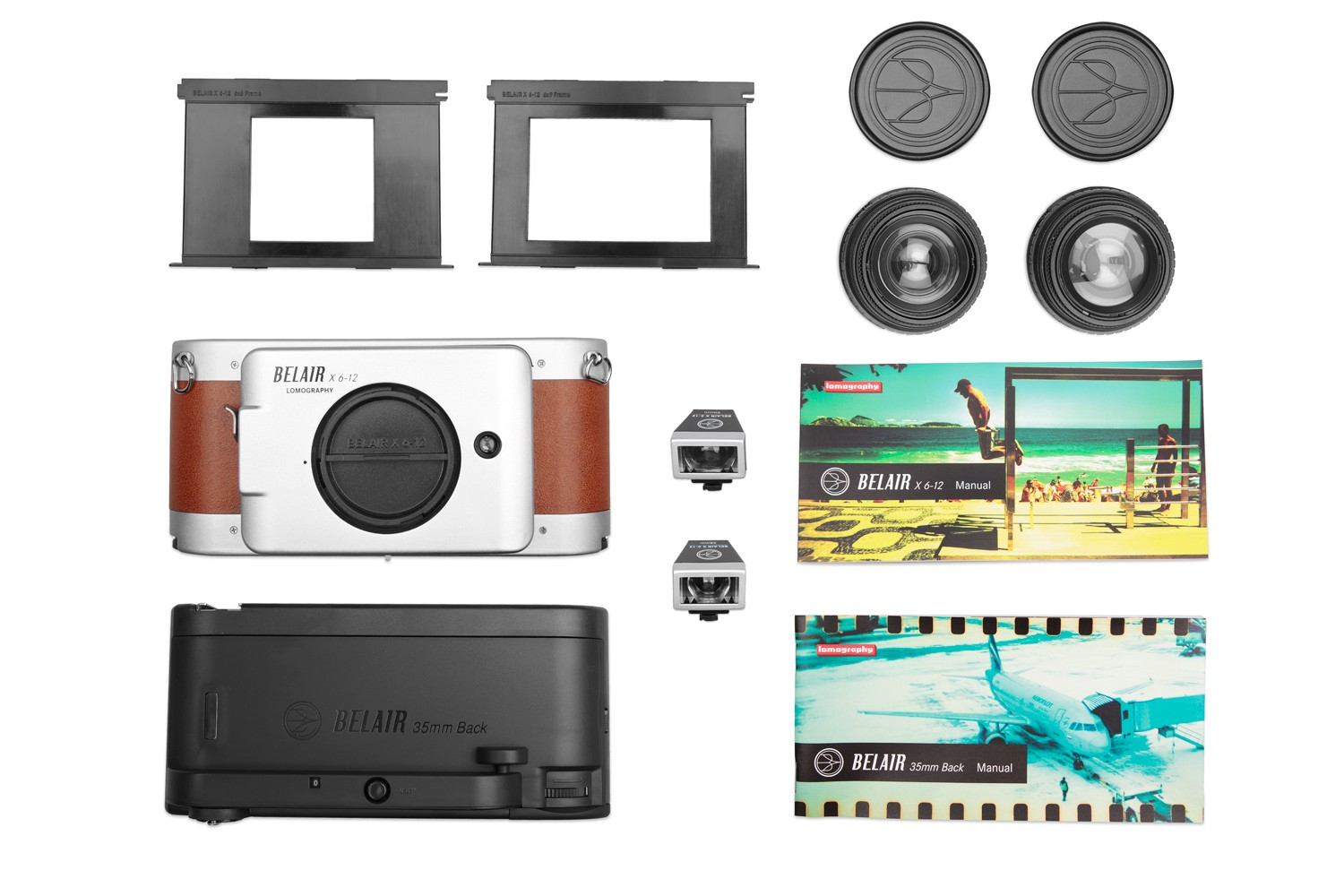 Belair X 6-12 Jetsetter Middenformaat Camera Deluxe Kit