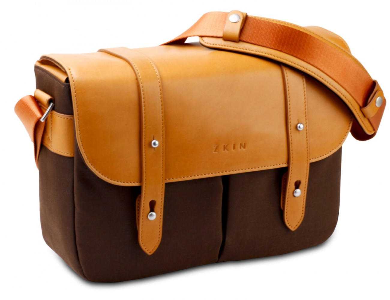 Zkin Shoulder Bag - Champ (wood brown)