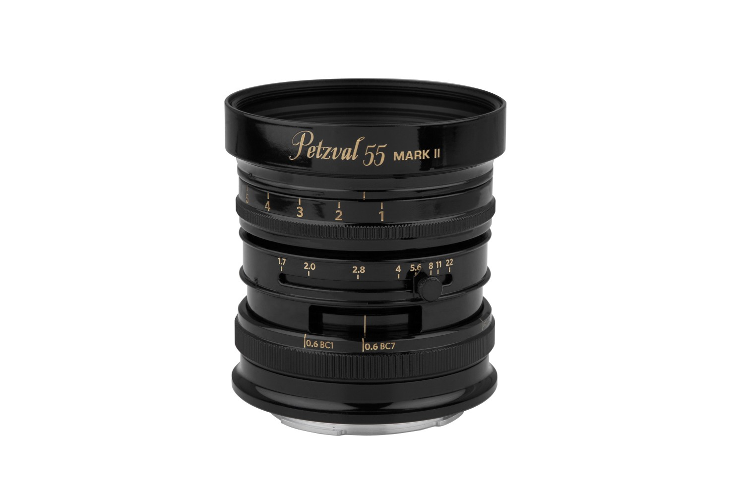 New Petzval 55 mm f/1.7 MKII Black Brass