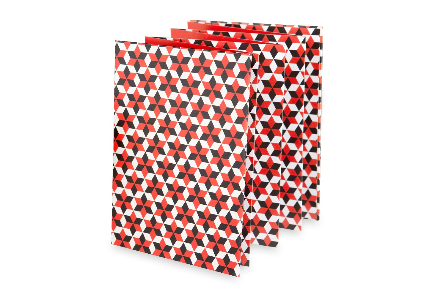 Photo Accordion Pattern Edition - Cubic