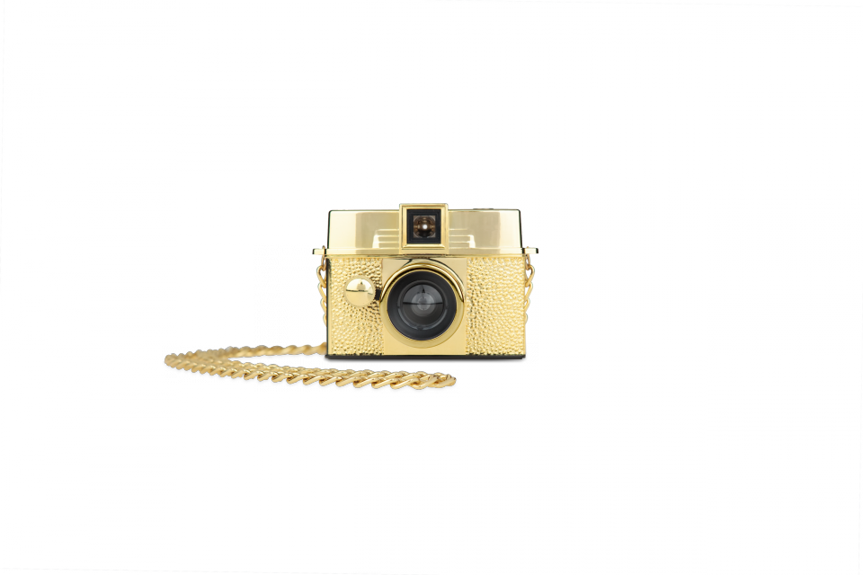 Diana Baby 110 Camera (Gold Edition)