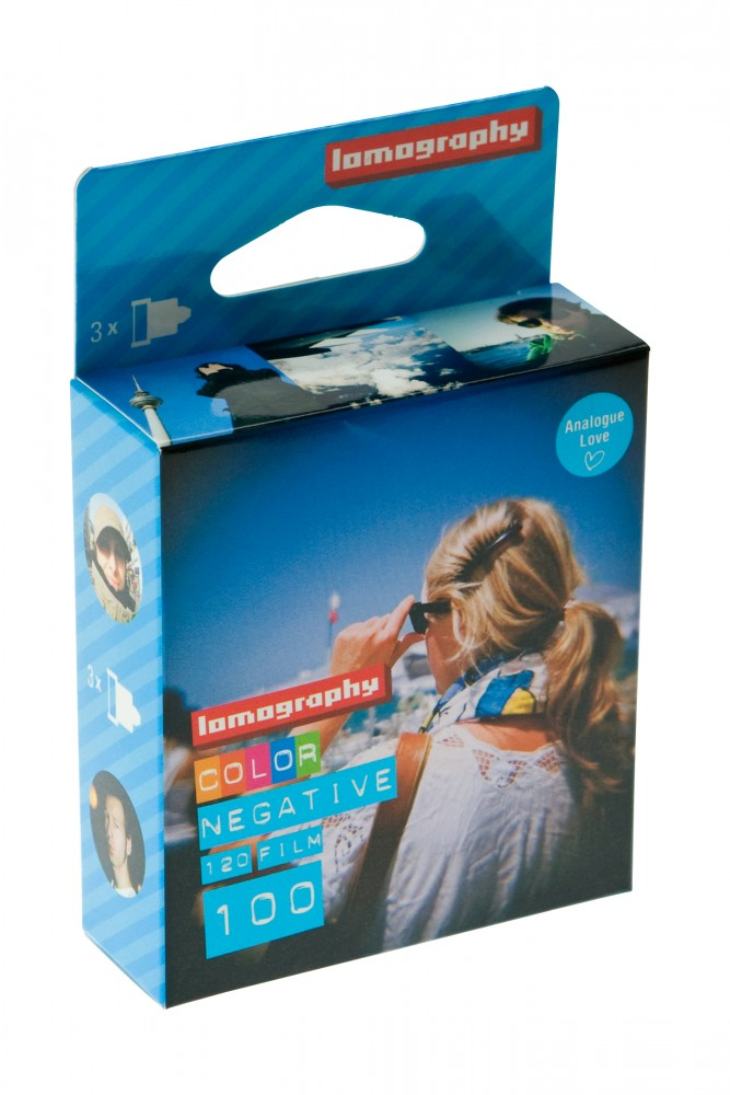 Lomography Color Negative 100 120 - Pack de 3