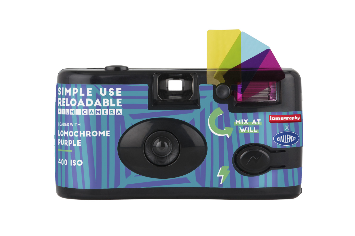 Simple Use Reusable Film Camera Lomochrome Purple - Challenger Edition