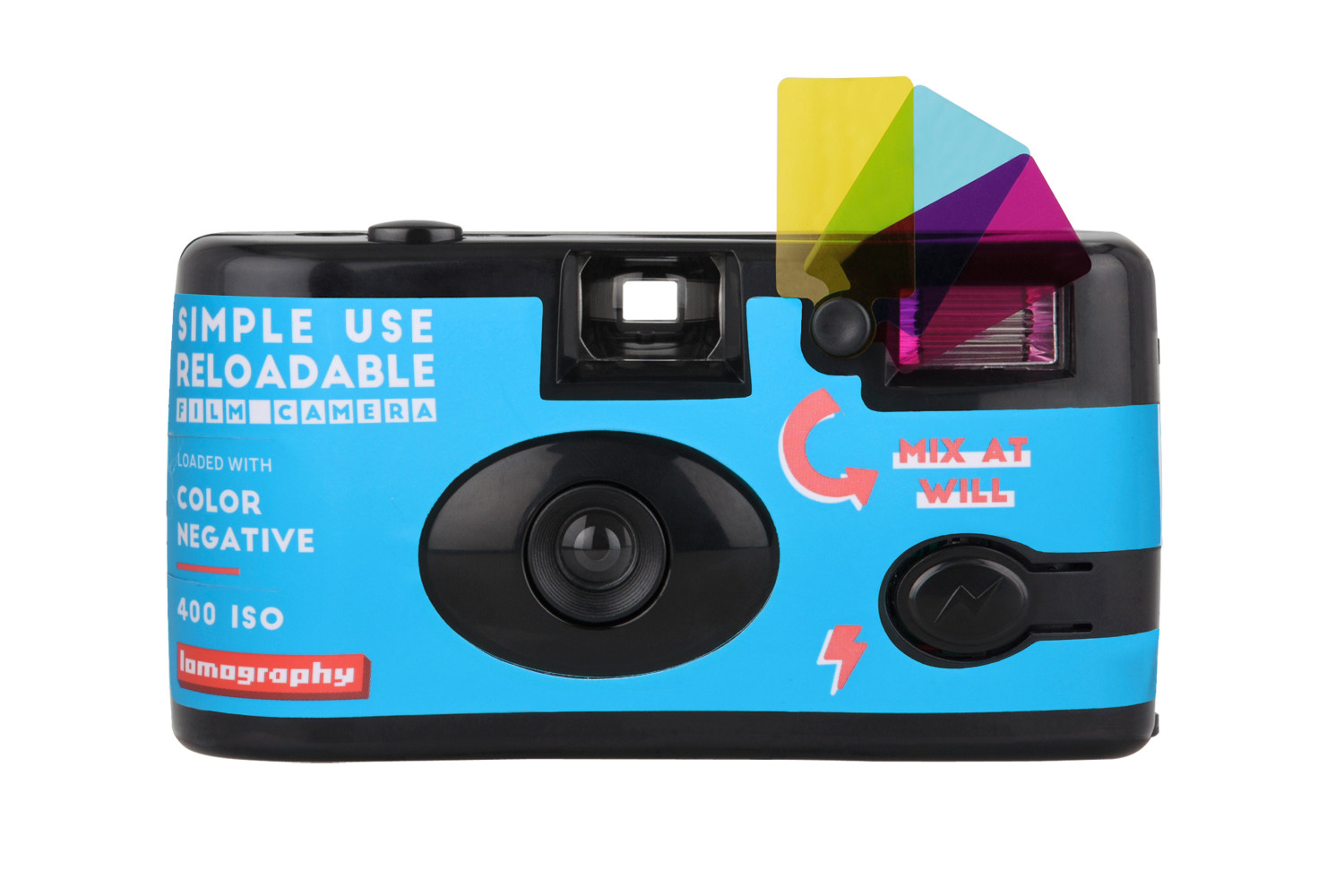 Simple Use Reusable Film Camera Color Negative 400