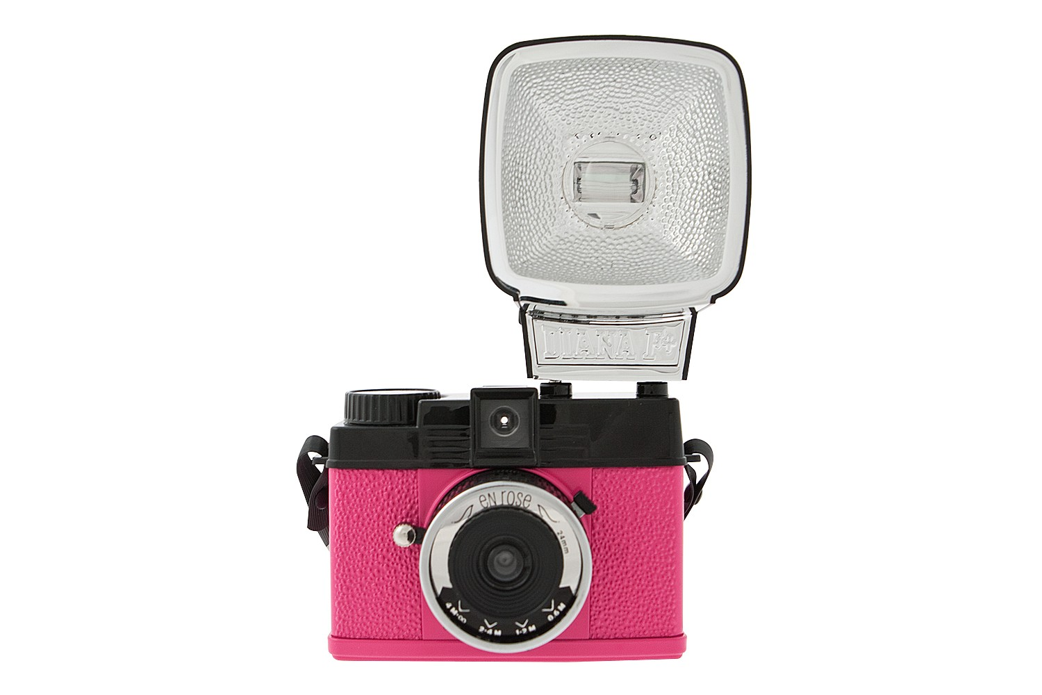 Diana Mini and Flash En Rose