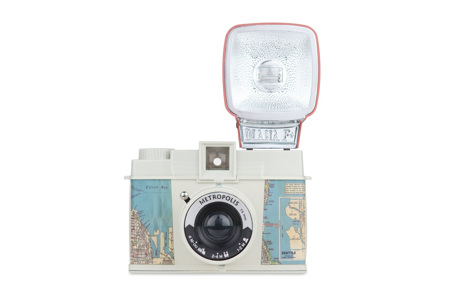 Diana F+ Camera and Flash (Metropolis Edition)