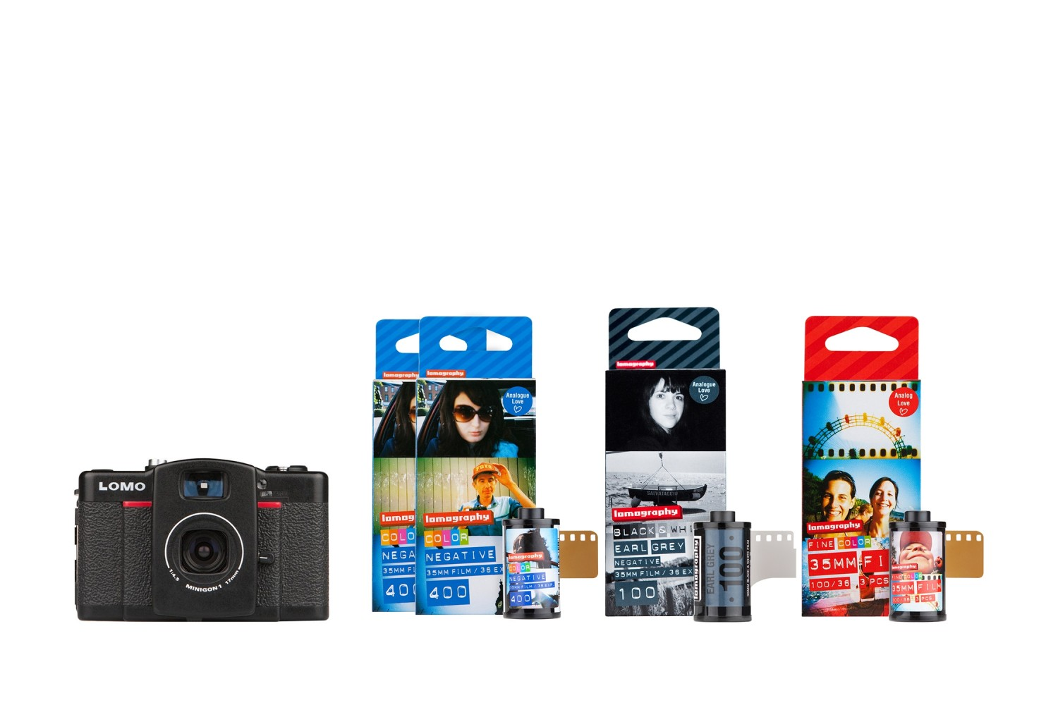 Lomo LC-Wide Camera and Film Bundle