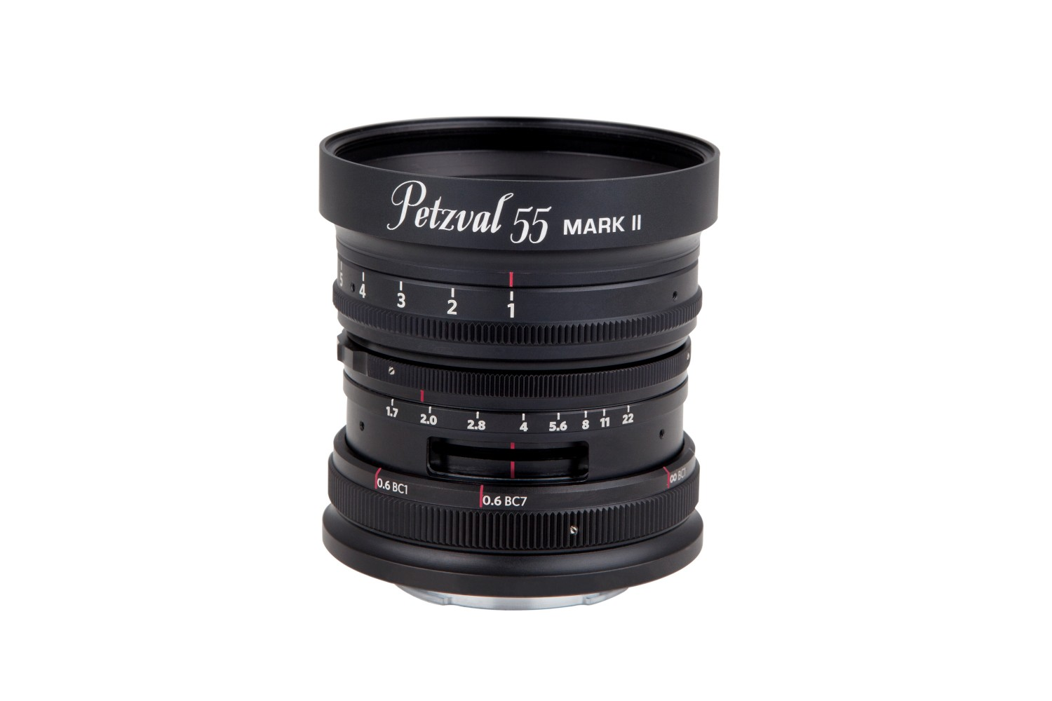New Petzval 55 mm f/1.7 MKII Black Aluminium