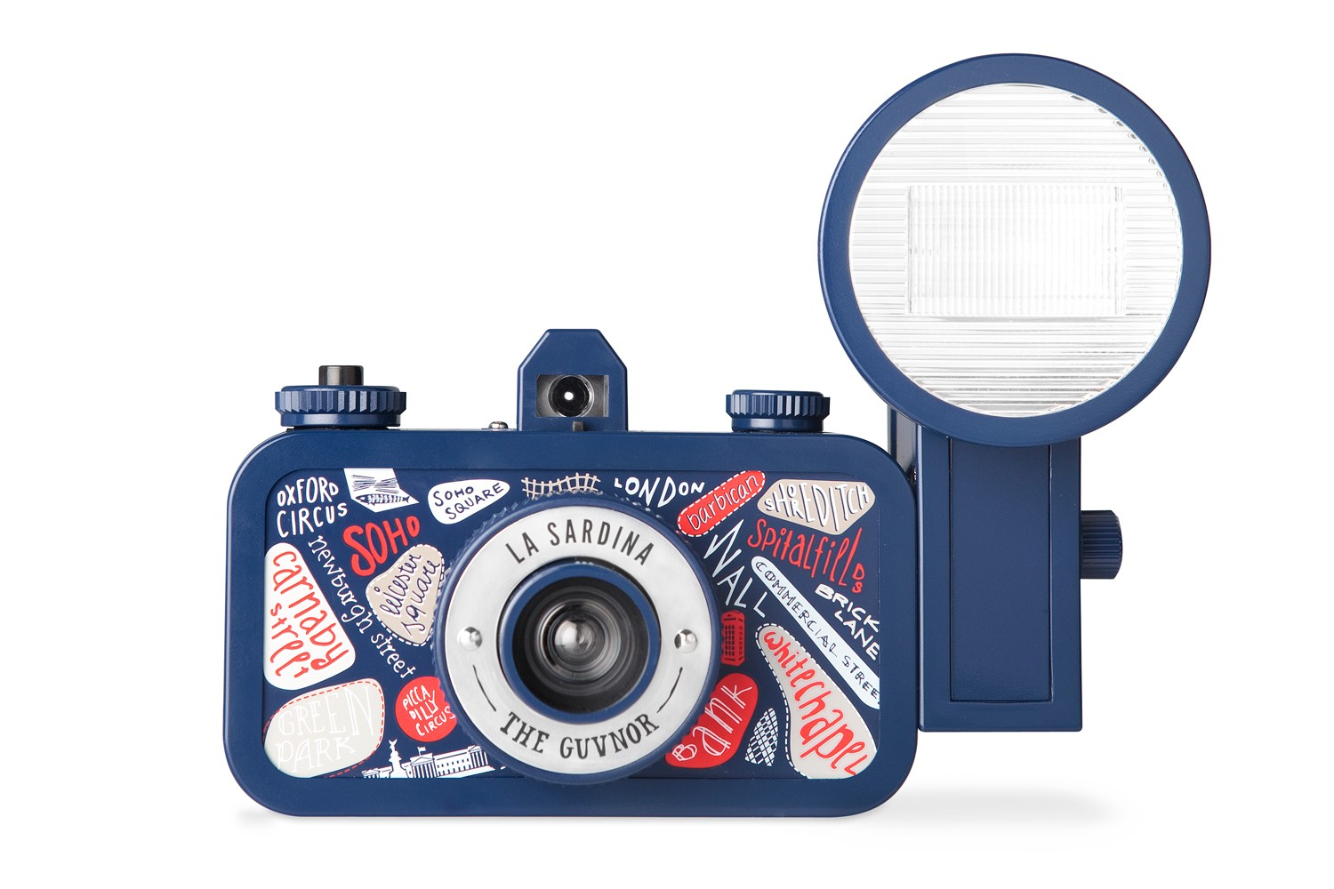 La Sardina Camera and Flash (The Guvnor Edition)