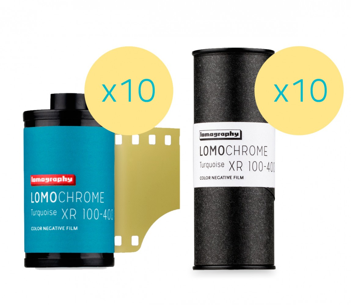 Lomography LomoChrome Turquoise XR 100-400 Mixed Formats 20 Rolls