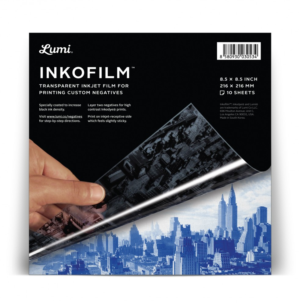 photo relating to Printable Transparency named Lumi Inkofilm Inkjet Printable Sheets · Lomography Keep
