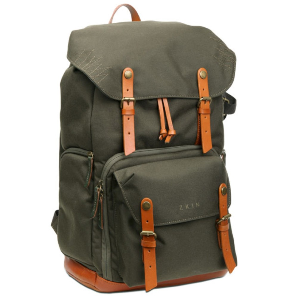 Zkin Camera Backpack - Raw Yeti (army green) · Lomography Shop c94f1072d2f00