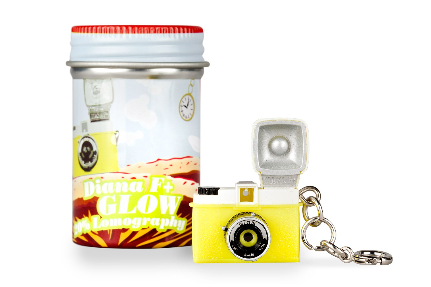 Diana F+ Glow In The Dark Keychain