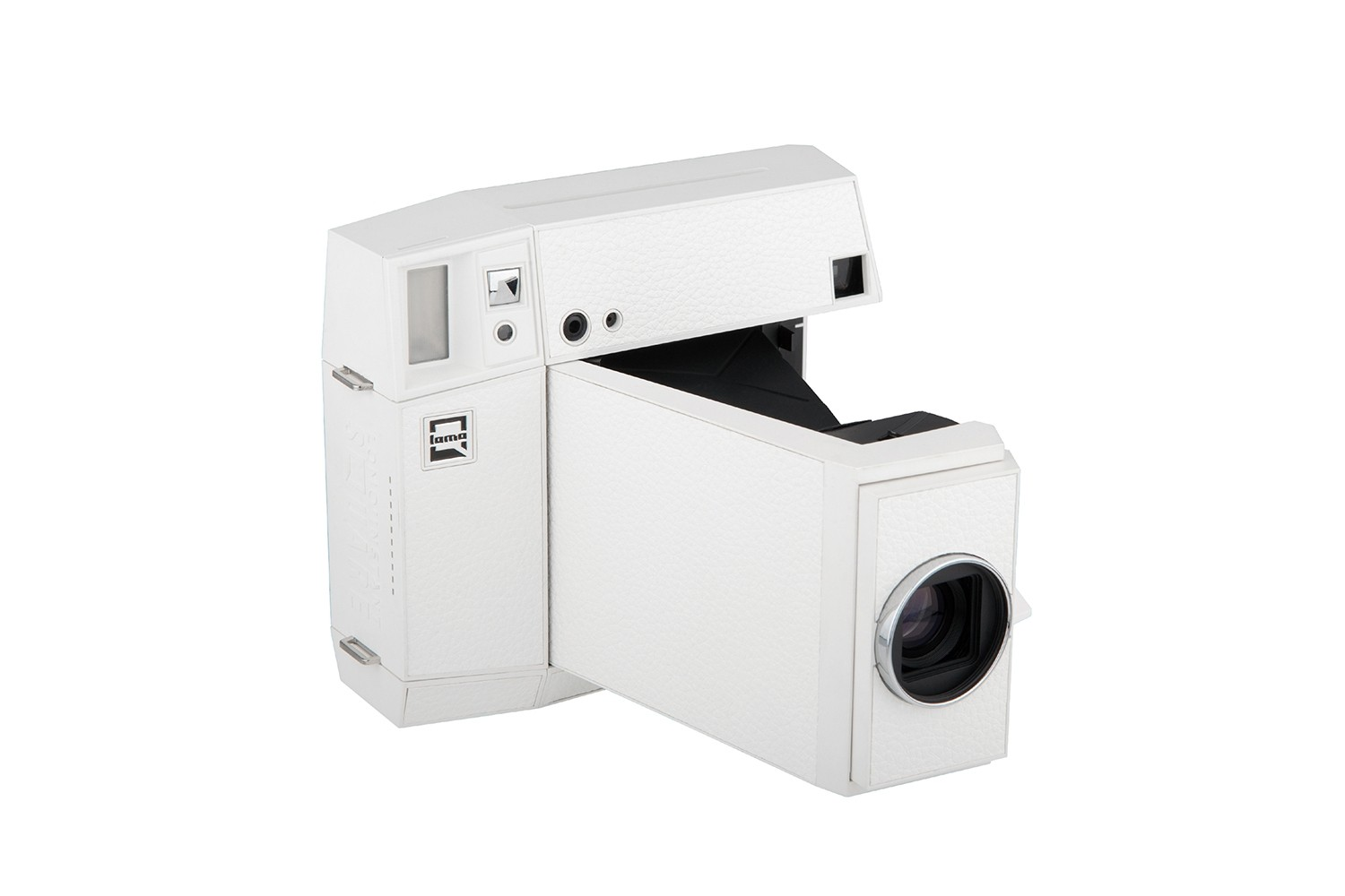 Lomo'Instant Square Glass (White Edition)