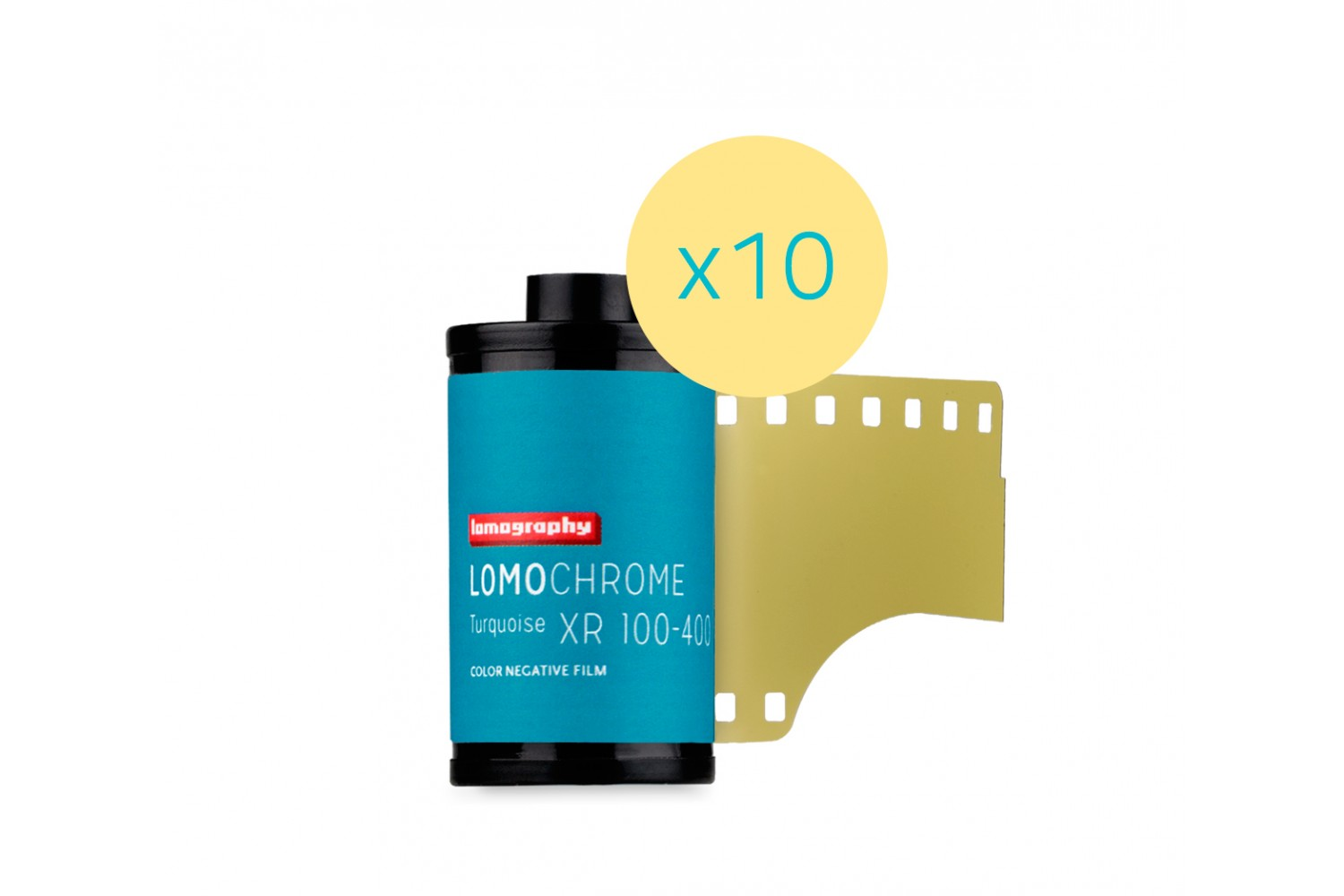 Lomography LomoChrome Turquoise XR 100-400 35mm Pack of 10