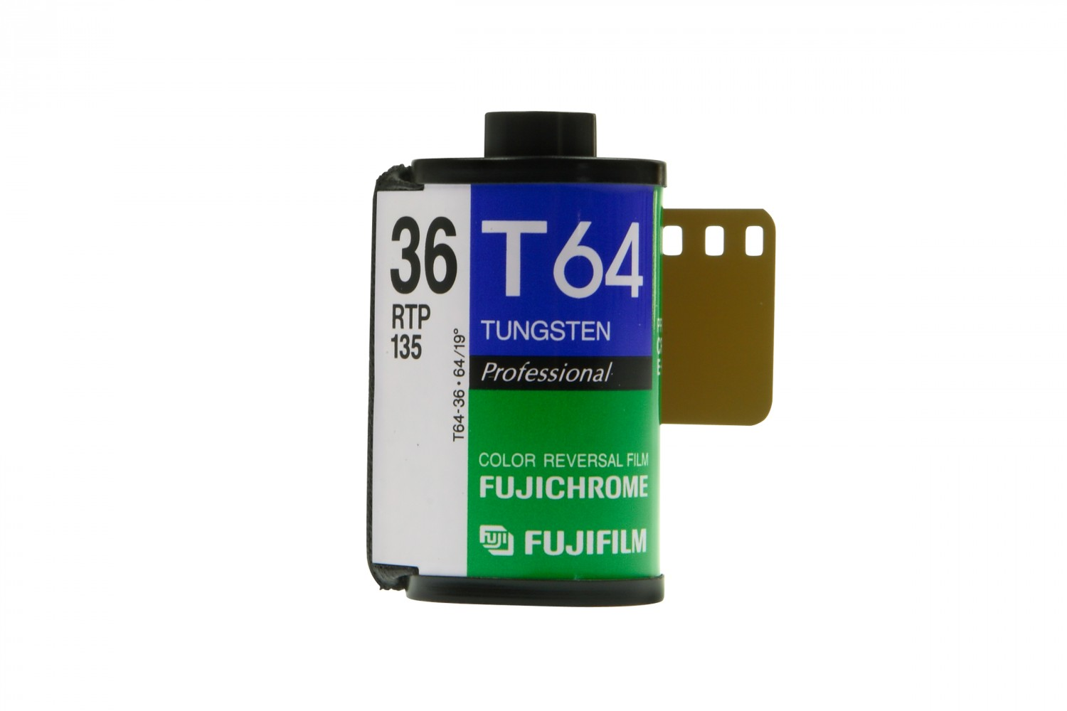 Fujichrome T64 RTP 35mm Tungsten Expired