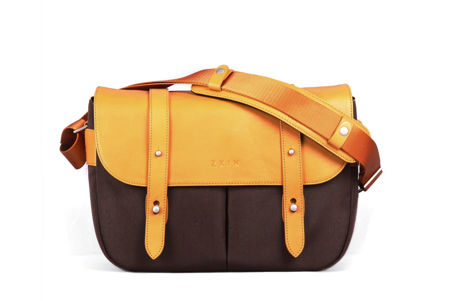 Zkin Shoulder Bag - Champ (orange brown)