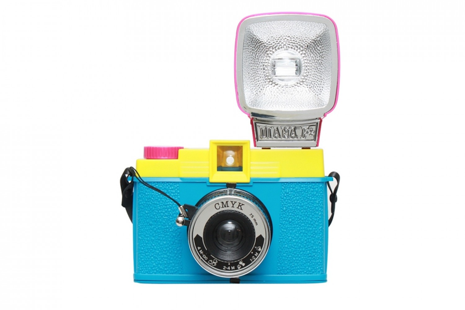 Diana F+ Camera and Flash (CMYK Edition)