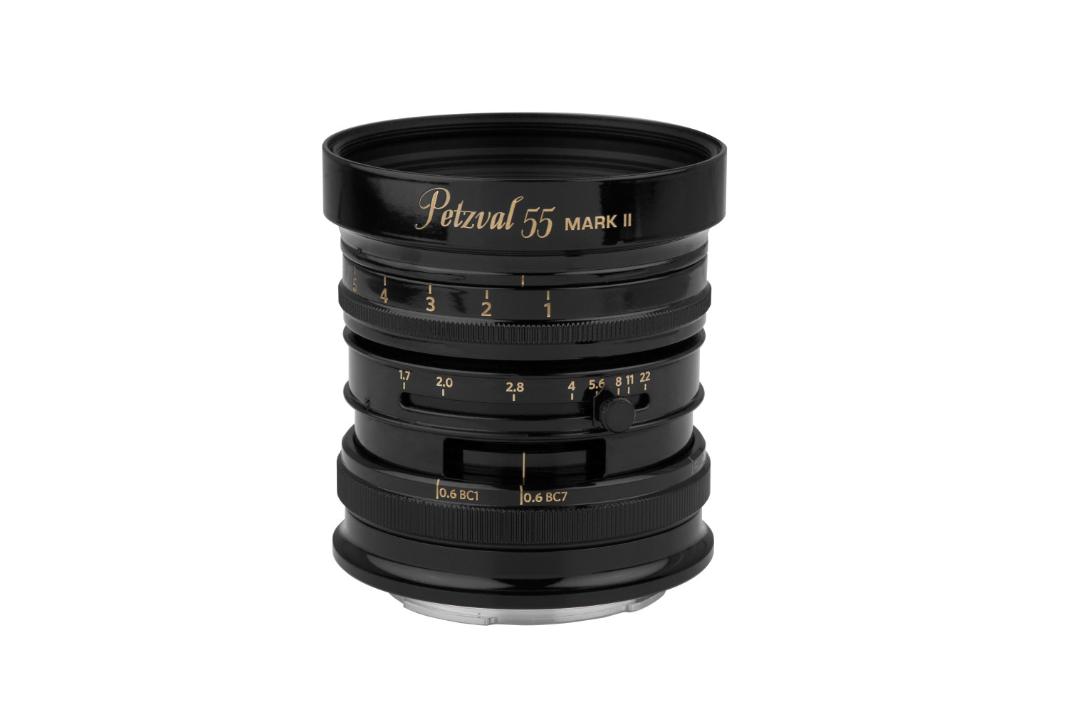 New Petzval 55 mm f/1.7 MKII Black Brass - Canon RF Mount