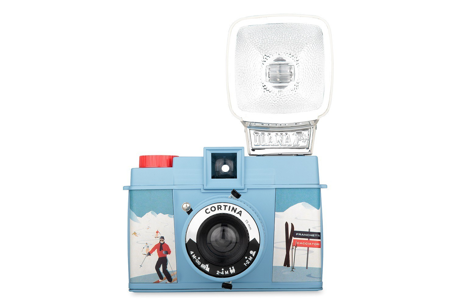 Diana F+ Camera and Flash (Cortina Edition)