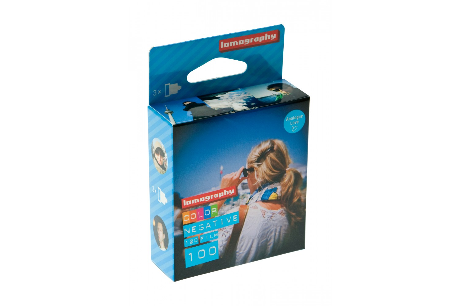 Lomography Color Negative 100 120 (3 pack)