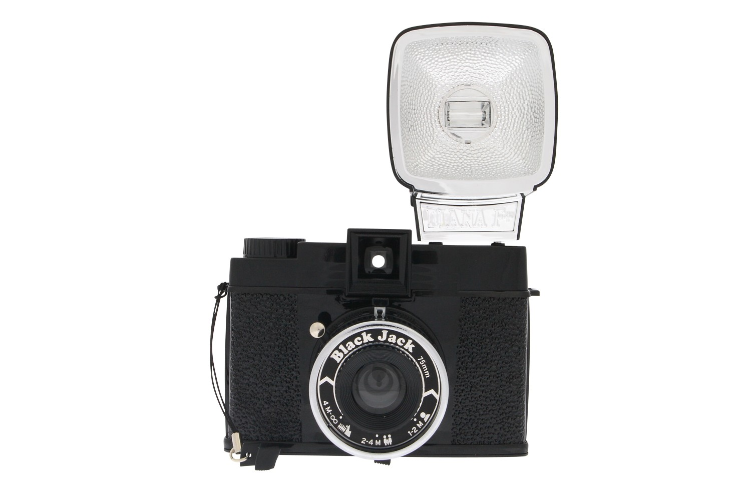 Diana F+ Camera and Flash (Black Jack Edition)