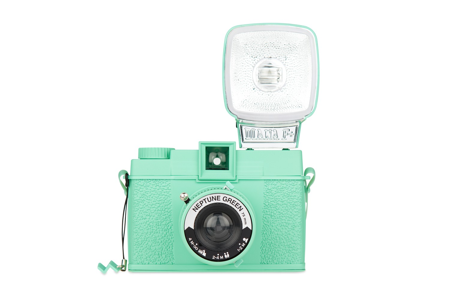 Diana F+ and Flash  Neptune Green