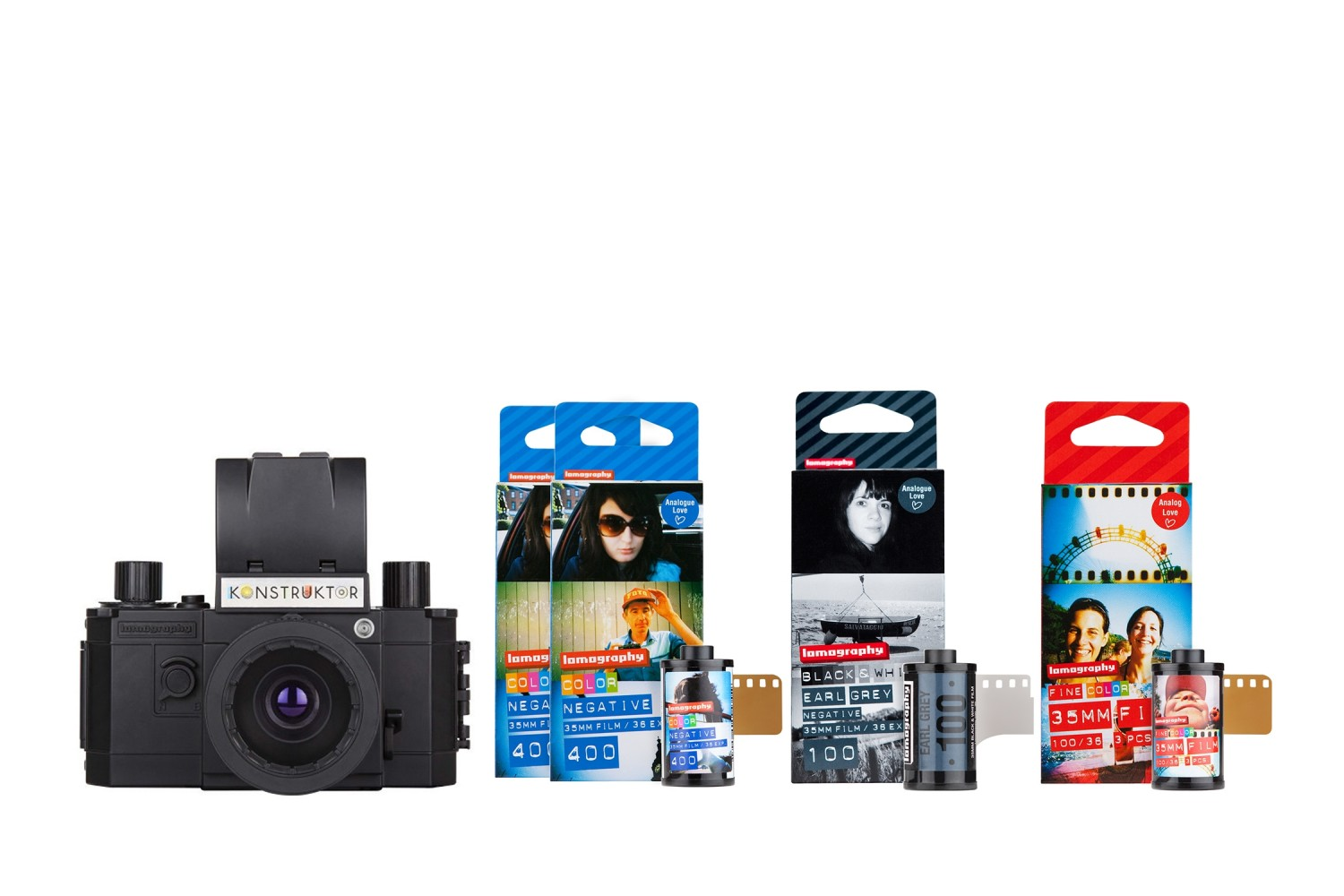 Konstruktor F Camera and Film Bundle