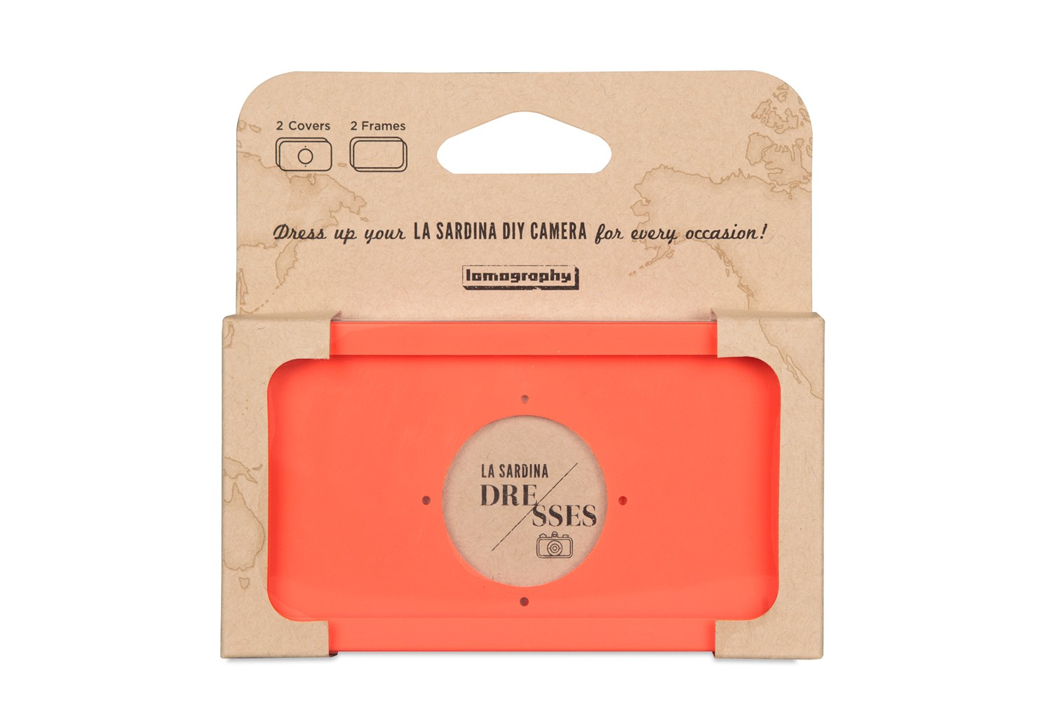 La Sardina Dress Orange Soda