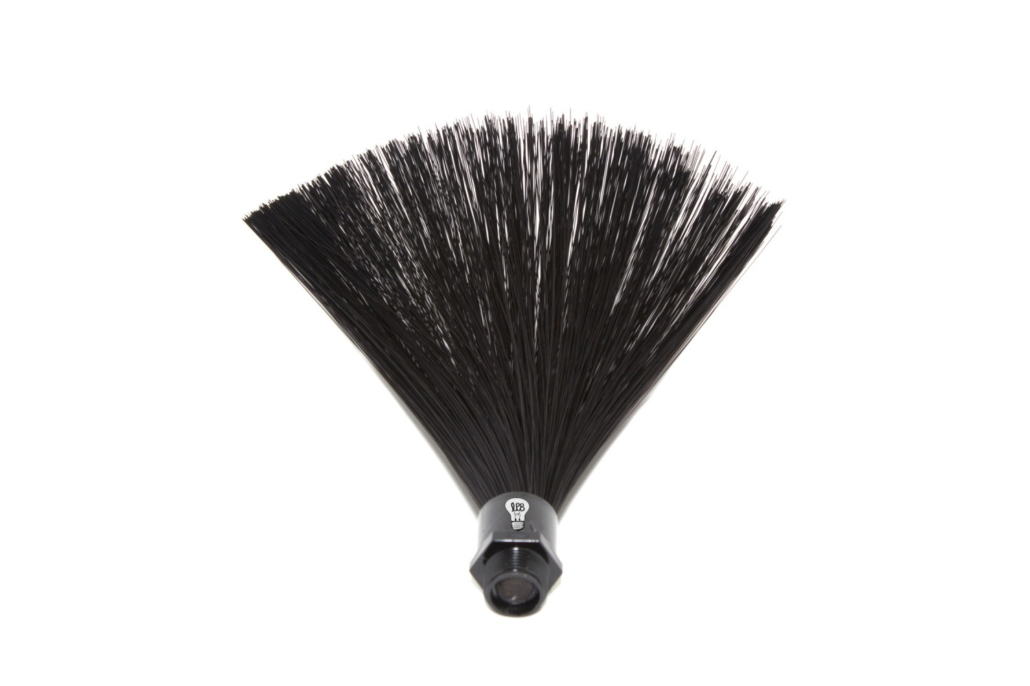 9in Black FiberOptic