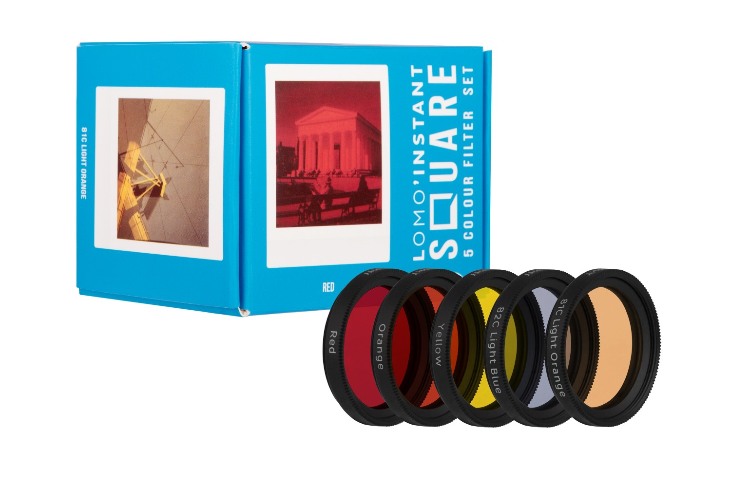 Lomo'instant Square Color Filter Set