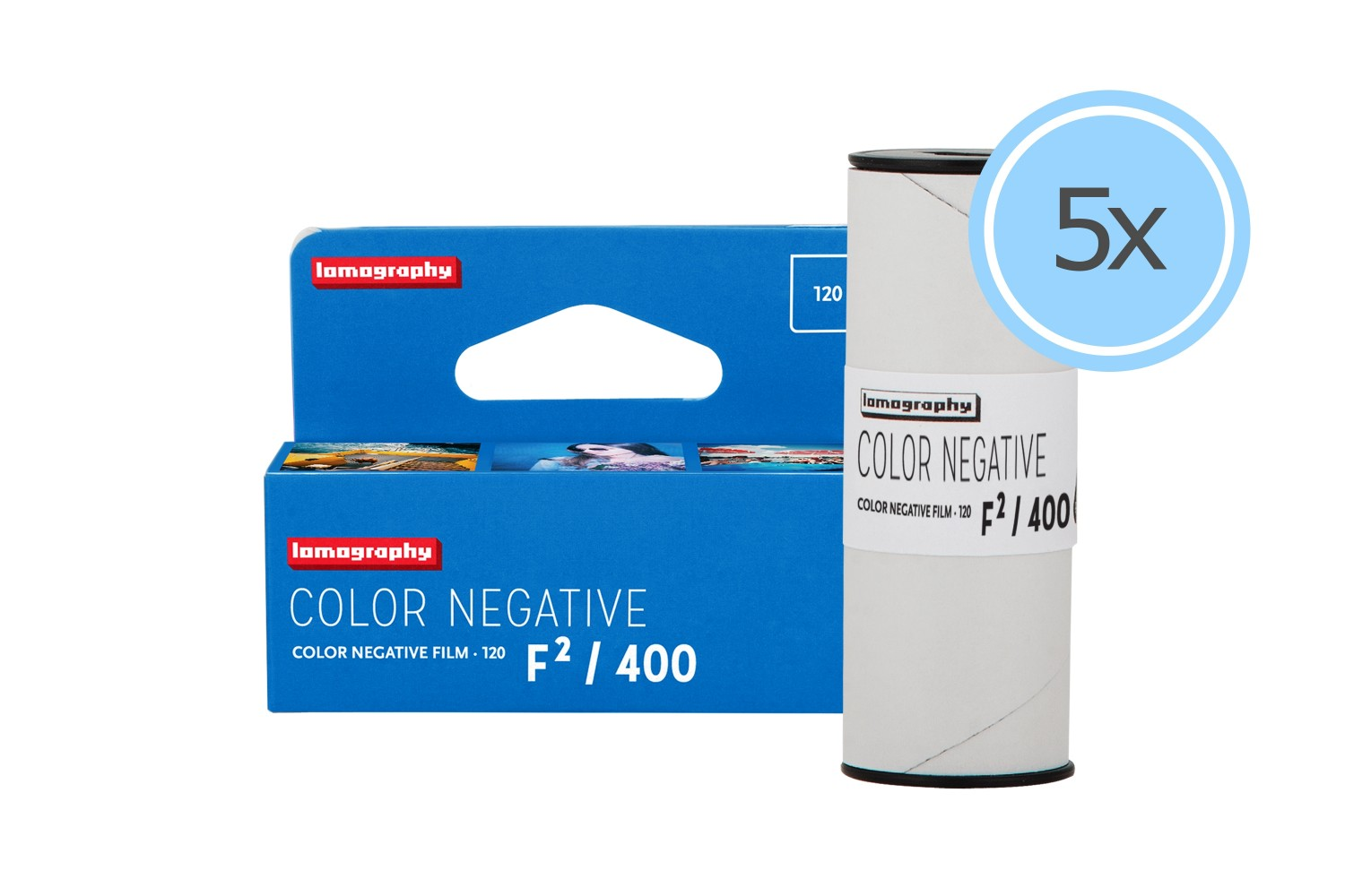 Color Negative F²/400 120 pack de 5