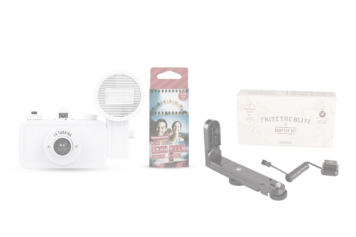 La Sardina and Flash + Fritz the Blitz Adaptor Pack