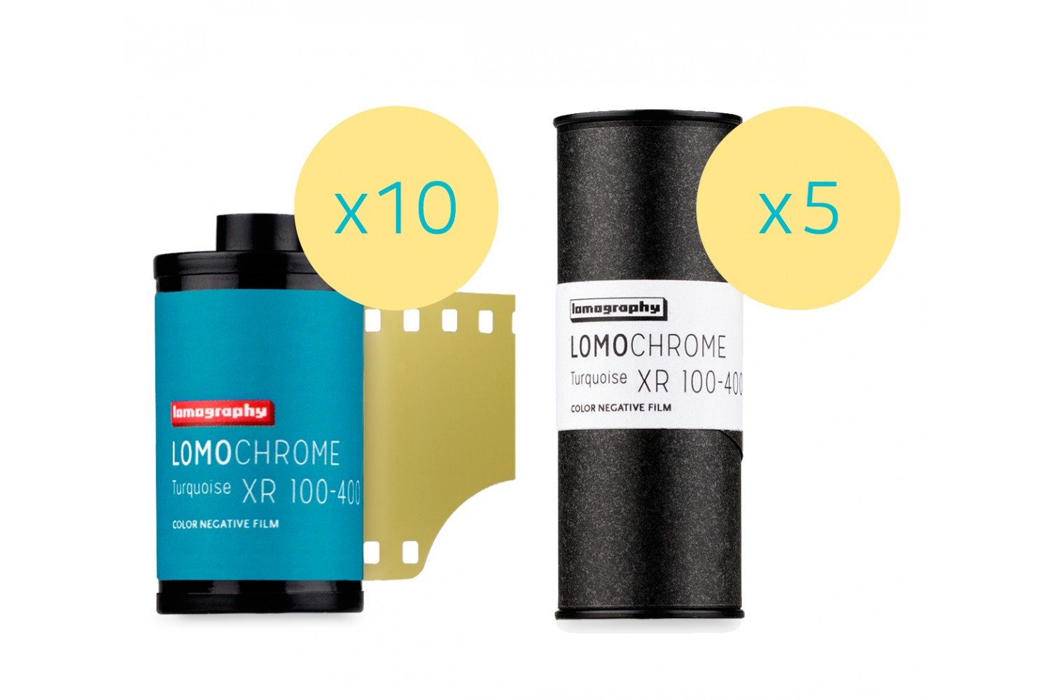 Lomography LomoChrome Turquoise XR 100-400 Mixed Formats 15 Rolls - 35mm