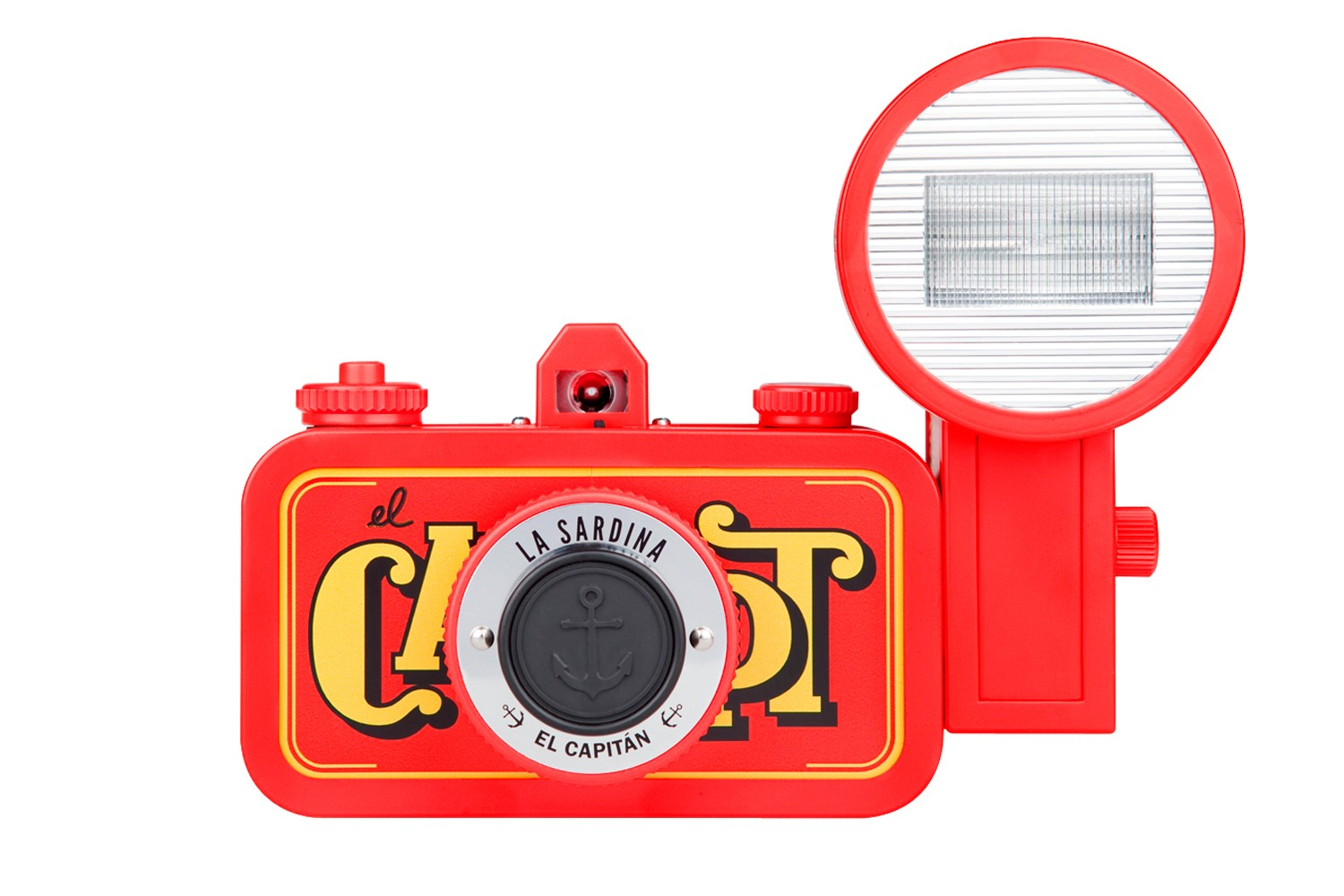 La Sardina Camera and Flash (El Capitan Edition)