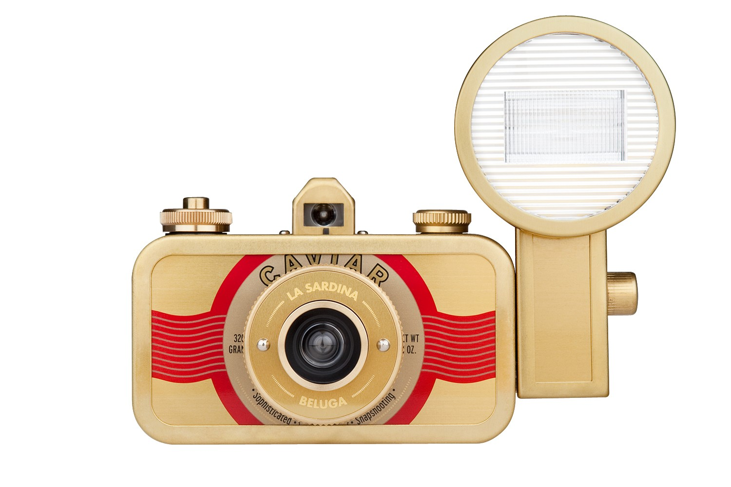 La Sardina Camera and Flash (Beluga Edition)