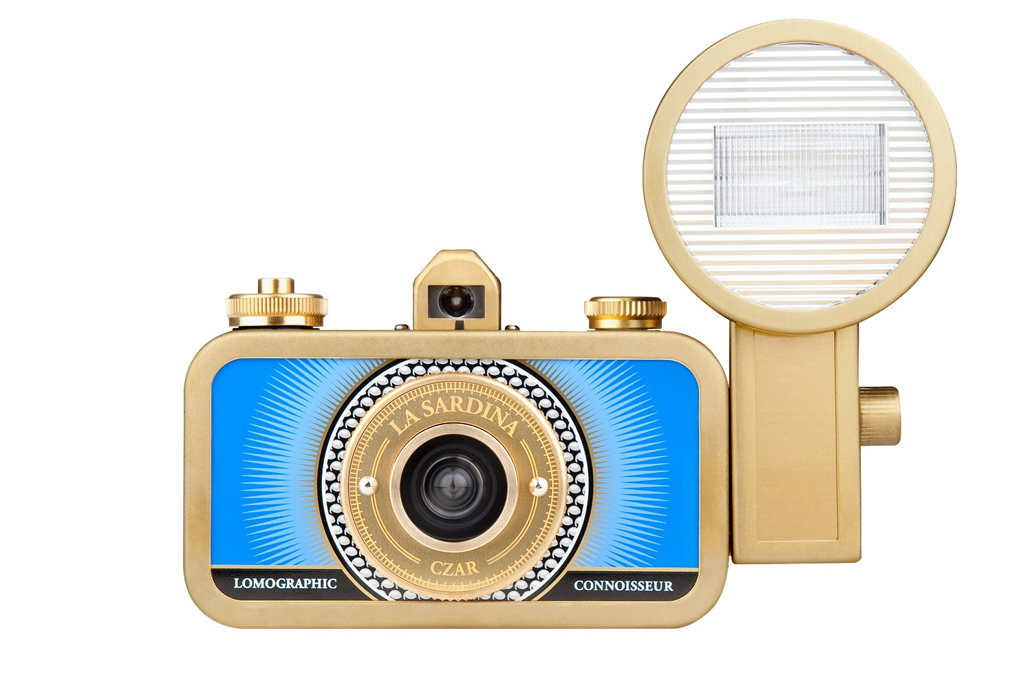 La Sardina Camera and Flash (Czar Edition)