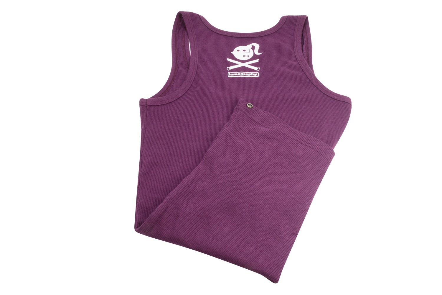 Lomographic Womens Tank Top Purple