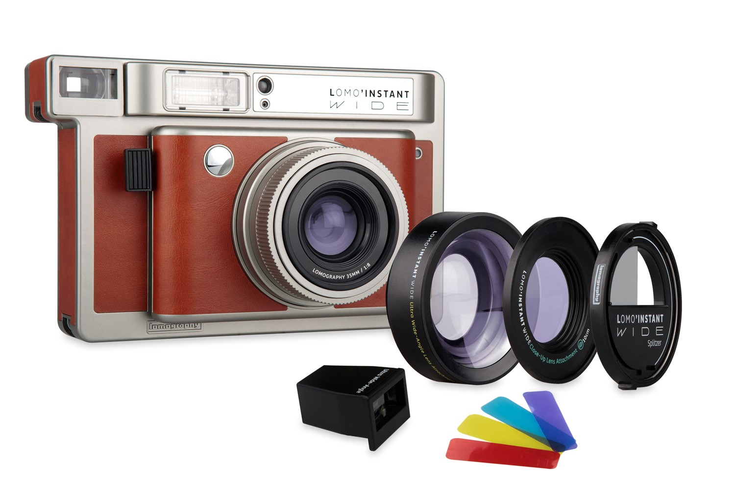 Lomo Instant Wide Camera And Lenses Central Park Edition