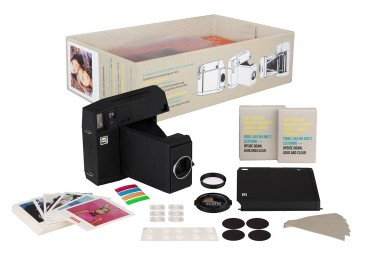 Lomo'Instant Square Camera Combo (Black Edition)