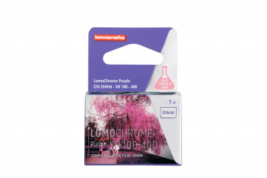 Yeni LomoChrome Purple Film 35mm - 5'li Paket