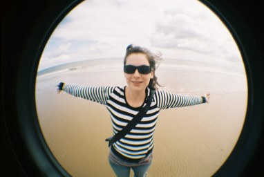Fisheye No. 2 35 mm Camera White Edition