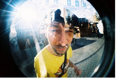 Fisheye No. 2 35 mm Camera Lime Punch Edition