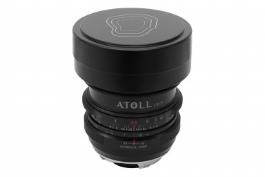 Atoll Ultra-Wide 2.8/17 Art Lens Sony E