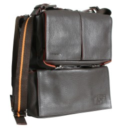 Sidekick Leather Bag Brown