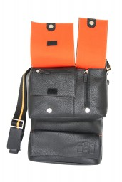 Sidekick Leather Bag Lite Black