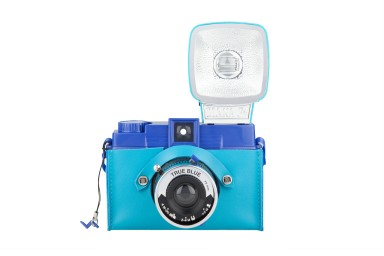 Diana F+ Case Peacock Blue